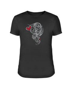 """T-Shirt schwarz """"Löwenherz"""""""