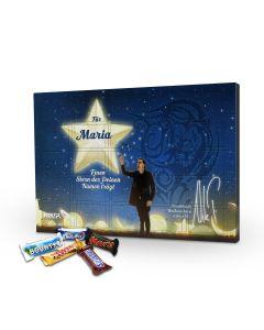 Adventskalender Mars Mixed Minis - mit Wunschnamen personalisiert